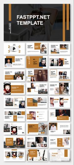 Chic & Fashion Presentation PowerPoint Template - The most creative designs Brand Presentation, Presentation Layout, Presentation Slides, Business Presentation, Powerpoint Presentation Ideas, Power Point Presentation, Web Design, Slide Design, Design Layouts