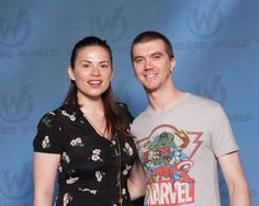 photo with Hayley Atwell at Wizard World Philly PA 2015