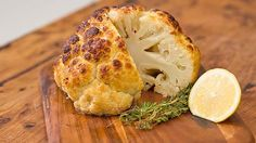 Whole Roasted Cauliflower recipe - Everyday Gourmet with Justine Schofield