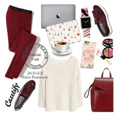 """""""Travel world"""" by helenevlacho ❤ liked on Polyvore featuring Icebreaker, Casetify, Bobbi Brown Cosmetics, Loeffler Randall, MANGO and travel"""