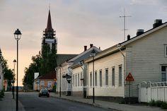 Raahe. Northern Ostrobothnia - Pohjois-Pohjanmaa - Norra Österbotten