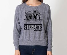 Elephant+Cute+Hip+Cool+Hipster+Sweater+Fun+by+EnlightenedState,+$22.95
