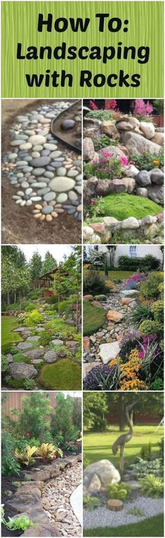 Landscaping rocks (The design of a rock garden and layout of stones) is something that each of us must choose according to his taste. So the decision is subjective and very personal. Therefore, it is…MoreMore #LandscapingDIY