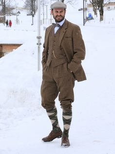 Pertisau, Achensee #Tweed #Shootingsuit #Vintage