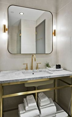 1001 Idees Pour Un Miroir Salle De Bain Lumineux Les Ambiances Stylees