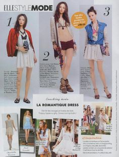 My Spring runway look is featured in French Elle!