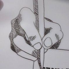 Algo senzillet ombrejant amb trames per saber on posar les ombres quan faci el dibuix de veritat #drawing