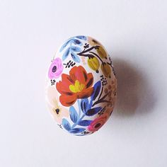 Painted Easter Eggs by Anna Bond @annariflebond | Webstagram