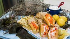 Three Types of Lobster Rolls