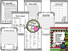 Voici 14 activités amusantes sur le thème de Noël destinées aux élèves du 1er cycle.
