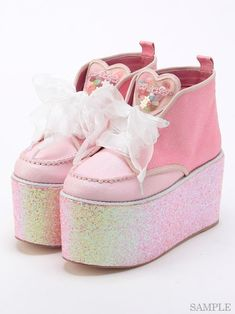 I would wear those Swankiss platforms, even if I have to squeeze into their biggest sized platforms.