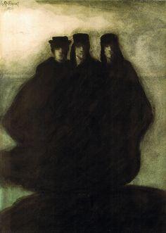 Léon Spilliaert- Les Trois Figures