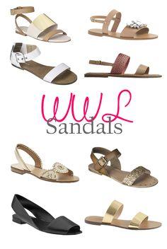 Wednesday Wish List: Sandals