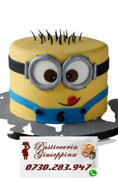 Tort de la Cofetaria Pasticceria Giuseppina ! Comanda direct pe WhatsApp : 0730283947 #cofetaria #eminescu #cofetarie #bulevarduldacia Despicable Me, Minions, Fictional Characters, Minion Stuff, Minion