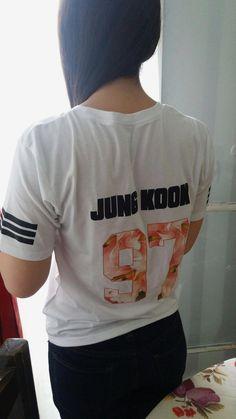 Jung Kook Bangtan Boys Summer Style Tees bts shirt, bts t shirt, bts army shi. Kpop Shirts, Army Shirts, Boys T Shirts, Bts Shirt, T Shirt Diy, Shirt Shop, T Shirt Logo Design, Shirt Designs, Graphic Design