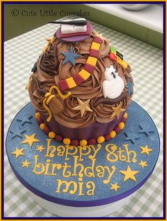#HarryPotter #cupcake - For all your decorating supplies, please visit craftcompany.co.uk