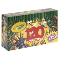 Did they even make crayon sets this big back in our day? 120 ct! Save with this Kmart Toy Coupon: $3 off $10 Toy Purchase	http://bargainbriana.com/kmart-3-off-10-toy-purchase-printable-coupon/  (expires 12/24) #kmartfab15