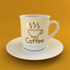 Coffee Tea Cup 003 3D Model- High quality 3d Coffee or Tea Cup.  Studio Setup in Vray or Mental Ray for instant use.    Coffee Sign Map Included !    Formats:  - .max V-Ray : With UVs and materials for V-ray 2.4  - .max Mental Ray : With UVs and materials for Mental Ray  - .fbx : With UVs - Without materials  - .obj : With UVs - Without materials    UVs Templates images are provided in MapsUvs archive.    Enjoy !    All sample images are rendered with Vray. MentalRay renderings may be a bit…