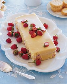 Strawberry Mousse Cake Recipe