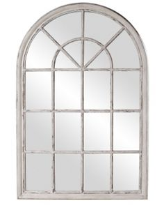 Arched Window Translucent Glass