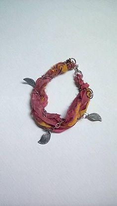 Sari Silk Fall Bracelet