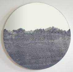 our DRIFT collection continues limited edition round mirrors by Fernando Mastrangelo