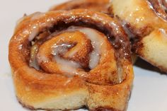 This recipe just came to me because I had a hankering for cinnamon rolls, but didn't have any pre-made cinnamon roll dough in my fridge, jus. Cinnamon Roll Dough, Cinnamon Rolls, Breakfast Items, Breakfast Recipes, Yummy Eats, Yummy Food, Yummy Yummy, Healthy Food, Fun Desserts