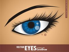 Creating Vector Eyes with CorelDraw (via a href=http://vector.tutsplus.com/tutorials/illustration/creating-vector-eyes-with-coreldraw/vector.tutsplus.com/a)