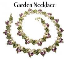 Free Bead Pattern - Garden Necklace by Deborah Roberti at Bead-Patterns.com