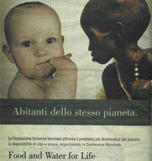 2008, contro la fame nel mondo, ente: Fondazione Umberto Veronesi, [IT]