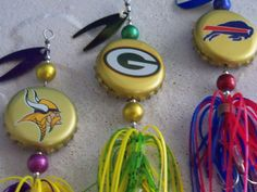 Fishing Lures N.F.L. Bottle Cap Any 1 by Luregasmic on Etsy