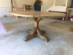 E Allium Way Armancourt Reclaimed Wood Round Dining Table Round Extendable Dining Table, Circular Dining Table, Round Wood Dining Table, Round Pedestal Dining Table, Rustic Table, Dining Room Table, Round Tables, Pedastal Table, 60 Inch Round Table