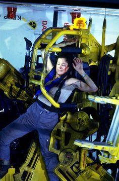 image is from Aliens featuring Sigourney Weaver as Ellen Ripley Alien Movie Series, Alien Movie 1979, Scary Movie Characters, Aliens Movie, Scary Movies, Fictional Characters, Sf Movies, Fiction Movies, Science Fiction Art