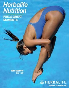 Herbalife Nutrition Fuels great Moments! Tania Cagnotto professional diver from Italy gives us her testimonial https://www.goherbalife.com/wellnessstore/en-US