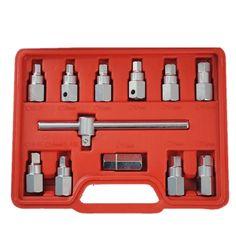 "12pc 3/8"" Oil socket tool set for Car"