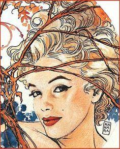Marilyn, artist: Milo Manara