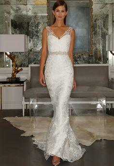 Venitian Lace Wedding Dress | Romona Kaveza Collection Fall 2015 | blog.theknot.com