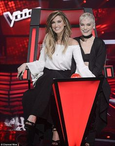 Frenemies: Jessie J said she has made peace with Delta Goodrem- after their feud on The Voice last year Instagram Snap, Jessie J, Song Artists, Music Industry, Pretty Woman, Style Icons, The Voice, Peace, Australia