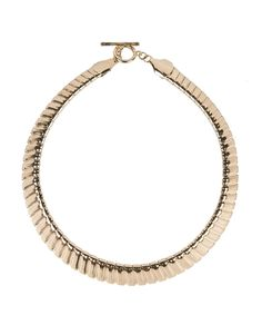 Gold Tone Bib Necklace
