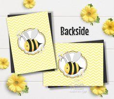Honey Bee Birthday Invitation 1st birthday Bee Invitations | Etsy Bumble Bee Invitations, Birthday Invitations, Birthday Cards, Bumble Bee Birthday, Your Cards, Thank You Cards, Honey, Etsy, Bday Cards