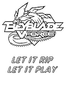 Drago Beyblade Coloring Pages For Kids Printable Free Pinterest