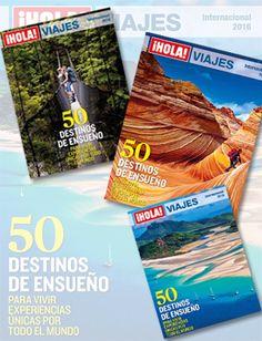 ¿Nos ayudas a elegir la que será la portada del próximo especial ¡Hola! Viajes Internacional 2016 que saldrá en junio? Solo nos queda la portada y queremos que la elijas tú. ¡Entra en la web y vota por la que más te guste! :-) #holaviajes #revistas #viajes #votaciones