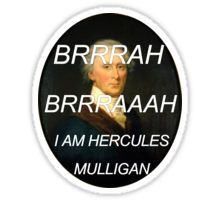 Hercules Mulligan Hamilton Musical Sticker