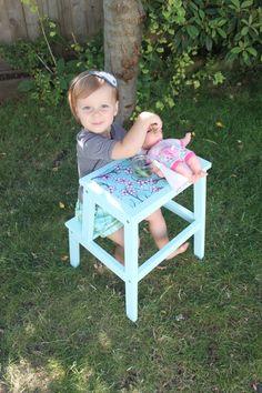 ikea hack bekv m hocker on pinterest learning tower. Black Bedroom Furniture Sets. Home Design Ideas