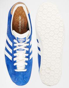 on sale 681d7 4eb4a Imagen 3 de Zapatillas de deporte en azul llamativo Gazelle OG de Adidas…  Adidas Originales