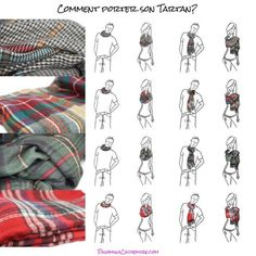 comment porter mettre nouer une charpe astuce mode pinterest how to wear a blanket. Black Bedroom Furniture Sets. Home Design Ideas