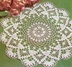 Doily Hortensia crochet scheme by eleanor
