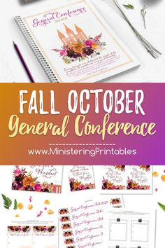 And now there's an SIMPLE and CUTE way to keep General Conference with you! Use the goals cards to write down what improvements you want to make in the next six months. Then keep this card in a spot that you will see often, like a mirror or car dashboard. #FallPrintables #GeneralConference #LDSgeneralconference #LatterDaySaint #LDSministering #LDSprintables #Fall General Conference Activities For Kids, Conference Invitation, Lds Blogs, Lds Conference, Black And White Printer, Printing And Binding, Service Ideas, Cute Pens, Visiting Teaching