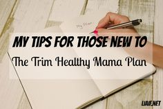 If you want to get started on the Trim Healthy Mama plan but not sure where to start, then try this post here! Trim Healthy Mama simple tips for beginners.