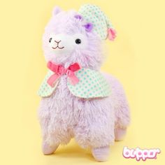 Good Night Alpacasso Plush - Medium / Lilac